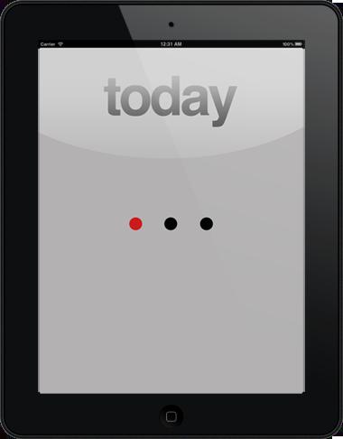 """Приложение """"Этот день"""" для iPad"""
